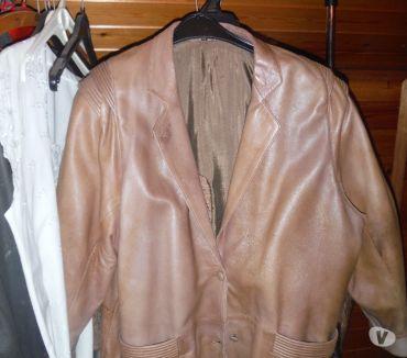 Photos Vivastreet veste 34 en cuir pour dame