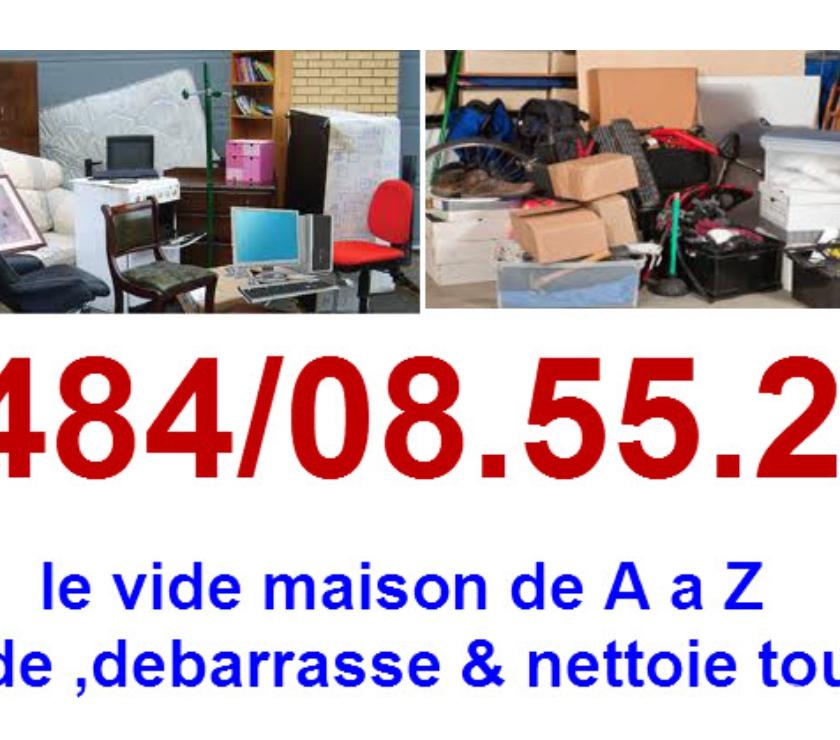 Déménageurs Bruxelles Bruxelles - 1000 - Photos Vivastreet 0484085522Vide maison, bureau ,grenier,garage container tous