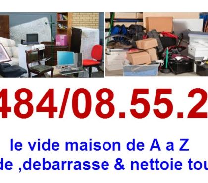 Photos Vivastreet 0484085522Vide maison, bureau ,grenier,garage container tous