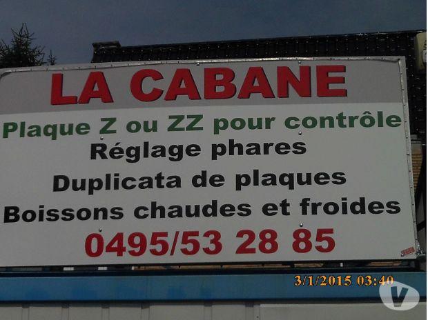 Photos Vivastreet REPRODUCTION de plaque sur parking du ct maisieres 15€