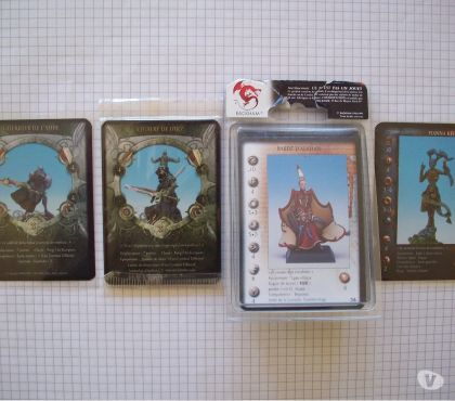 Photos Vivastreet Lot de cartes pour Confrontation-Hybrides de Rackham