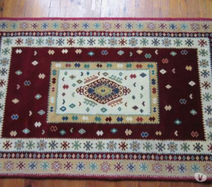 Photos Vivastreet Tapis bordeau beige