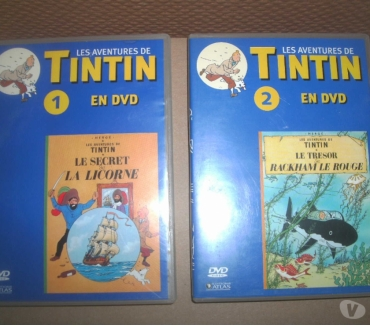 Photos Vivastreet 2 DVD TINTIN VOIR