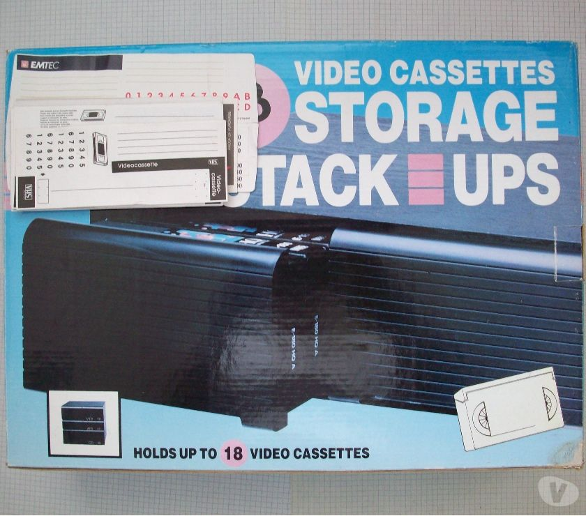 Image & son Mouscron Mouscron - 7700 - Photos Vivastreet Rangement pour cassettes vidéo VHS