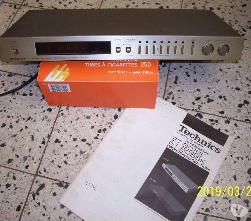 Photos Vivastreet TECHNICS FM AM STEREO TUNER ST-8055 - EB
