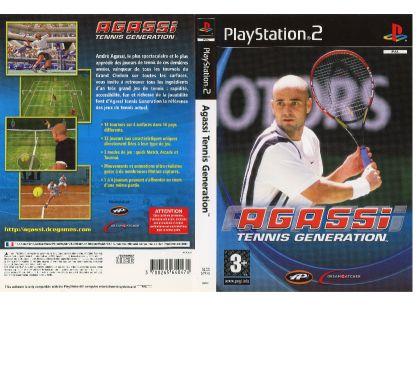 Photos Vivastreet Agassi tennis génération (PS2)
