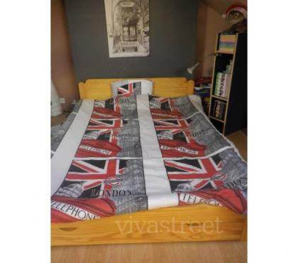 Photos Vivastreet parure de lit LONDON + couette