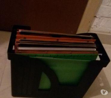 Photos Vivastreet porte documents avec farde suspendues