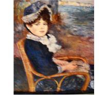 Photos Vivastreet Tableau (reprod.) de Renoir: Femme assise au bord de la mer