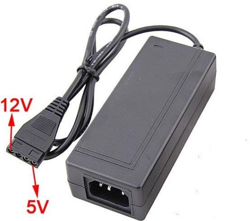 Photos Vivastreet 12v + 5v 2.5A Adaptateur secteur 4Pin pour PC Molex