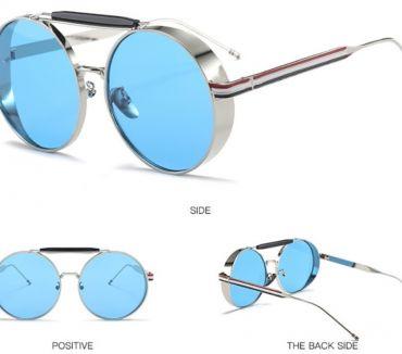 Photos Vivastreet Vend trait belle neuf lunette de soleil bleu pour femme