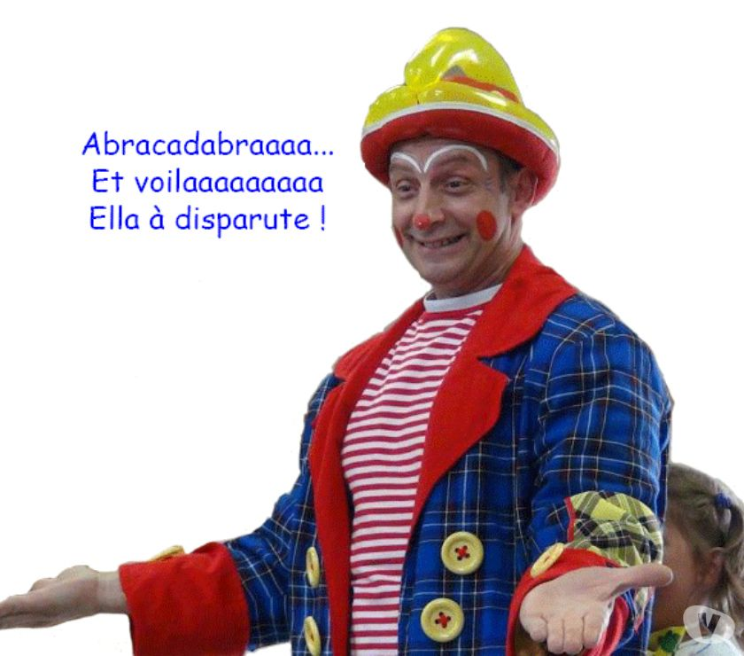 Photos Vivastreet Clown-magicien à domicile - Anniversaire d'enfants.