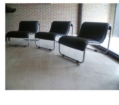 Photos Vivastreet Lot de 3 fauteuils de bureau pour salle d'attente