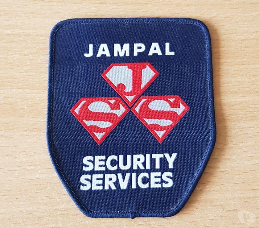 Collections Bruxelles Bruxelles - 1000 - Photos Vivastreet ecusson en tissu Jampal security services 9,5x8 cm à coudre