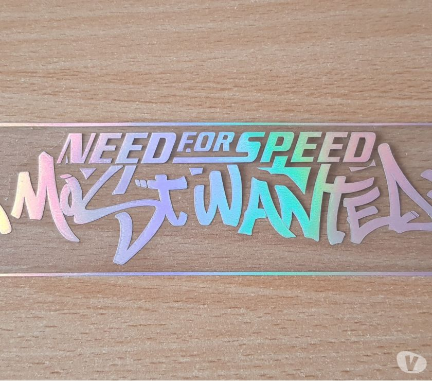 Photos Vivastreet autocollant sticker need for speed most wanted 17x5 cm