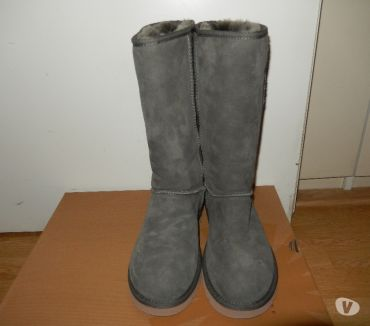 Photos Vivastreet Ugg quasi neuves 38 - couleur : gris de vert