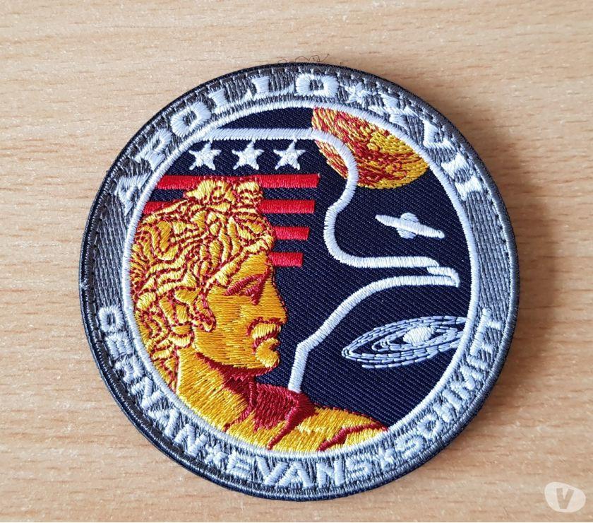 Photos Vivastreet Ecusson brodé mission apollo 17 nasa Cernan Evans Schmitt