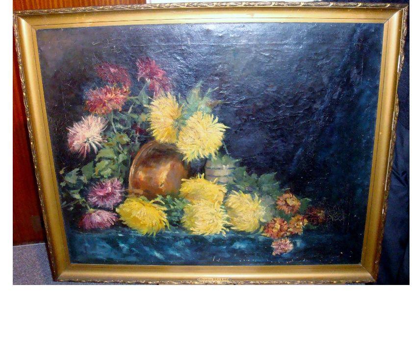 Photos Vivastreet Peinture à l'huile, encadrée, de Thérèsa Rucloux, ca. 1890