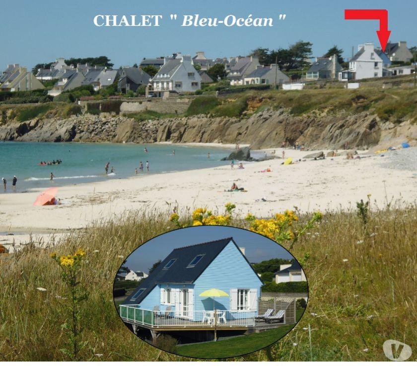 Photos Vivastreet CHALET PRES DE LA PLAGE, VUE SUR MER Finistère, BRETAGNE