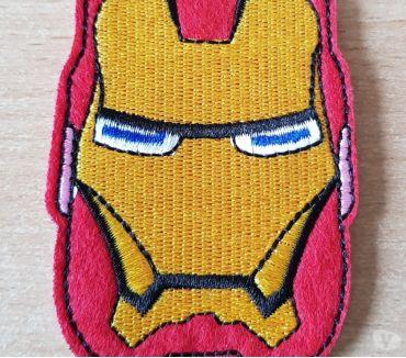 Photos Vivastreet Ecusson brodé iron man super héros Marvel 8x6 cm