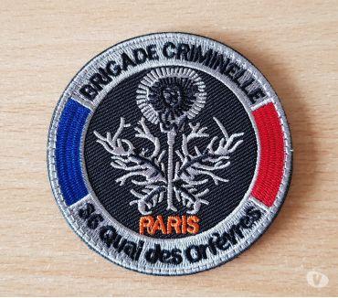 Photos Vivastreet Ecusson brodé brigade criminelle 36 quai des orfèvres