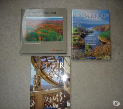 Photos Vivastreet Livres sur Anvers ,grand duché Luxembourg et la nature