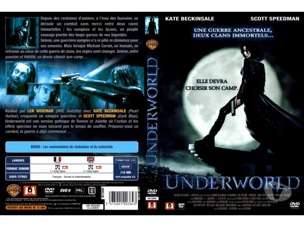 DVD Libramont Chevigny - 6800 - Photos Vivastreet Underworld 1