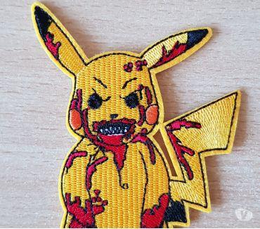 Photos Vivastreet Ecusson brodé Pokémon Pikachu 11x7 cm