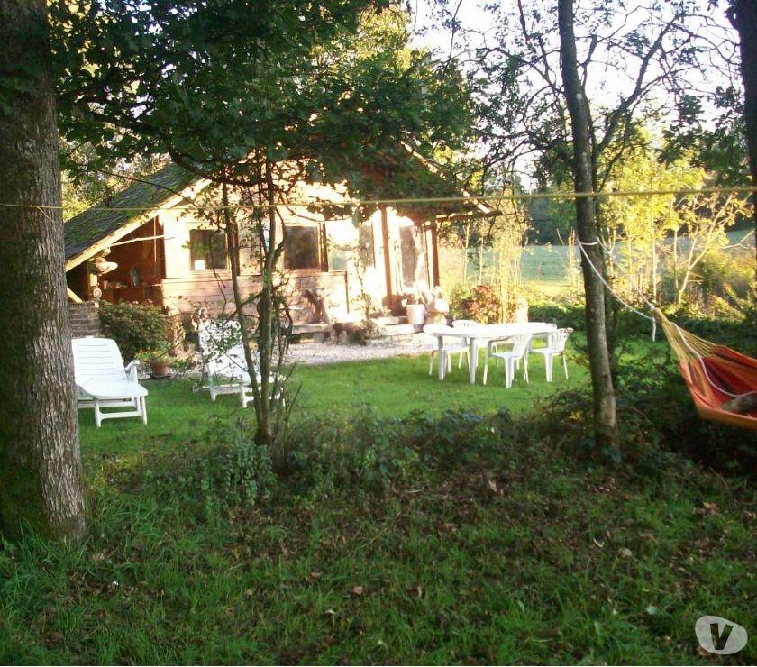 Photos Vivastreet CHALET+étang de pêche + petit bois sur 1hec 200