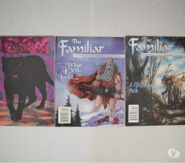 Photos Vivastreet Magazine de jdr-rpg en anglais The Familiar