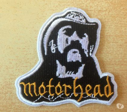 Photos Vivastreet Écusson motorhead lemmy's face 9x8,5 cm