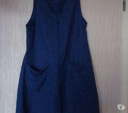 Photos Vivastreet Robe chasuble en jeans
