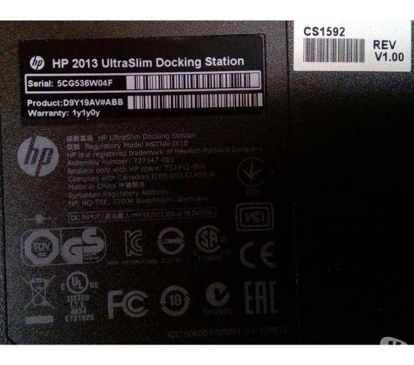 Photos Vivastreet HP 2013 UltraSlim Docking Station Laptop-Portable