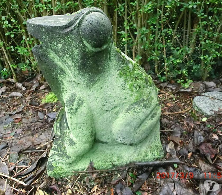 Photos Vivastreet Grenouille fontaine en pierre de lave ( numéroté )