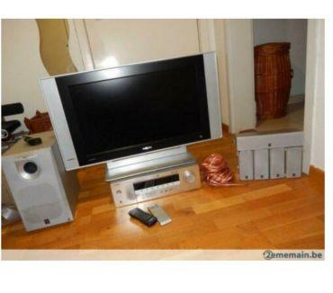 Photos Vivastreet Flat TV Philips & Home cinema Yamaha 5.1