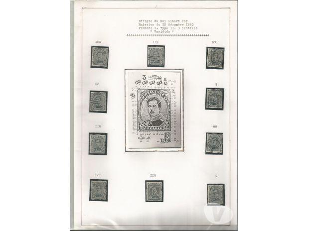 Collections Waterloo - 1410 - Photos Vivastreet collection de timbre