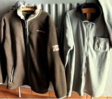 Photos Vivastreet veste polaire adulte =1) grise, 2) brunes