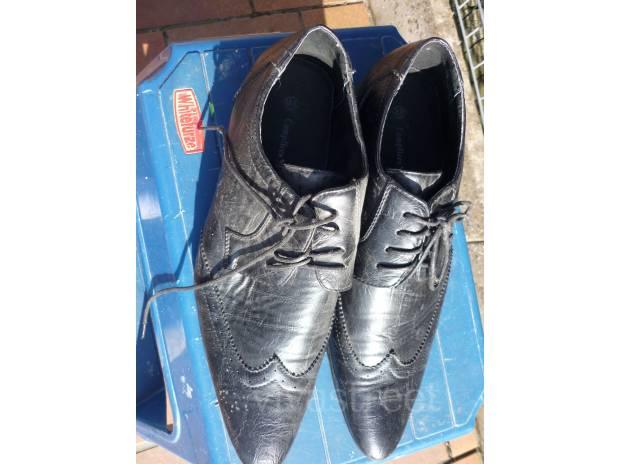 Photos Vivastreet Chaussures noire de ville homme P43 . COMPLICES EAGLE EN cui