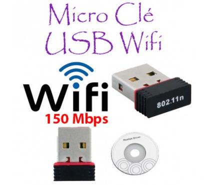 Photos Vivastreet Clé USB Adaptateur WiFi 150Mbps USB 2.0 WLAN