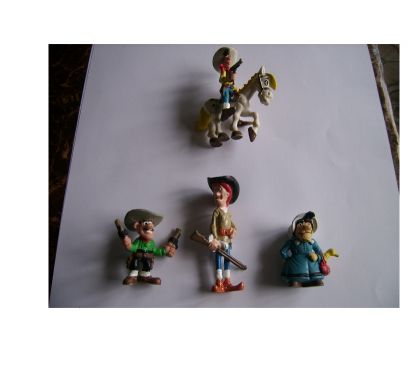 Photos Vivastreet lot de figurines LUCKY LUKE , JOLLY JUMPER , et .....
