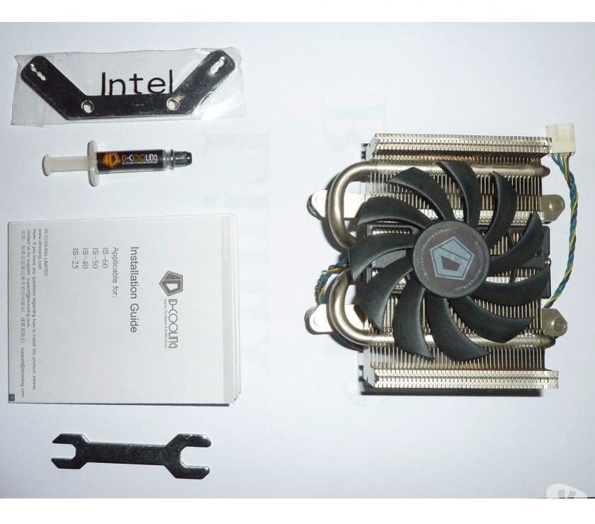 Photos Vivastreet ID-Cooling IS-25 pour ITX HTPC Low Profil TDP-75W CPU