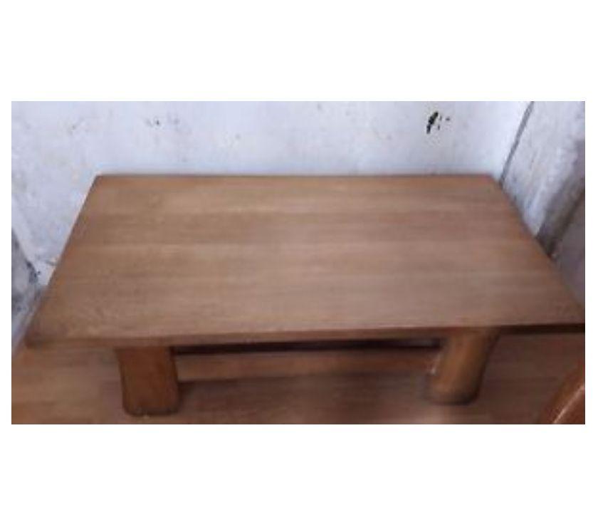 Photos Vivastreet table de salon en chêne caligène rectangle - tbe
