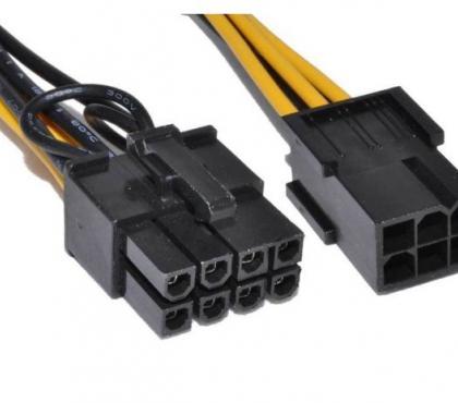 Photos Vivastreet PCI Express 6 Pin to 8 Pin Graphics Card Power Adapter Cable