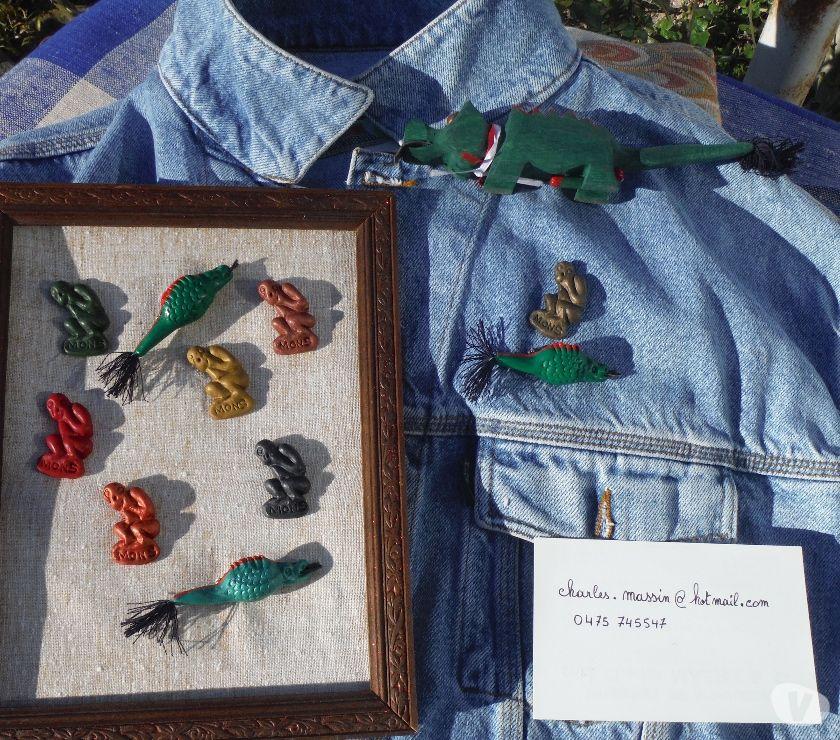 Photos Vivastreet pins dragon de Mons folklore Montois