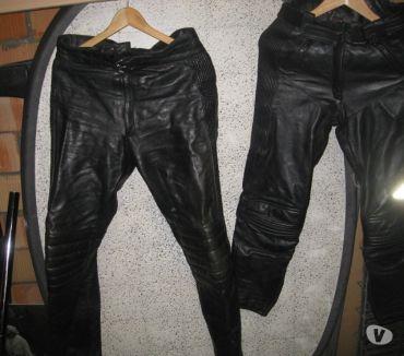 Photos Vivastreet pantalon moto en cuir noir pour femme