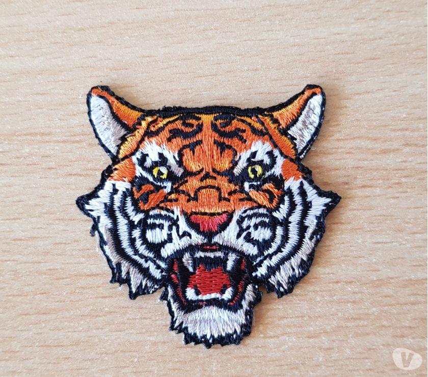 Photos Vivastreet Ecusson brodé Petite tête de tigre modèle 2