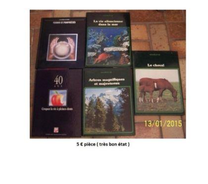 Photos Vivastreet Livres divers ( mer, cheval, arbres, prophétie )