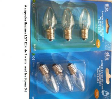 Photos Vivastreet Lot d'ampoules
