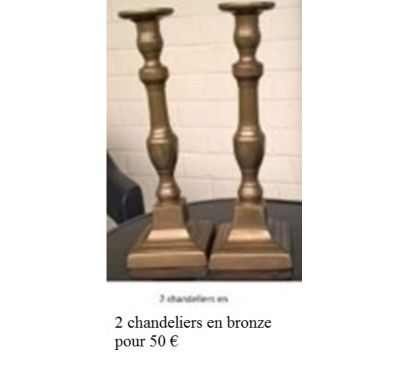 Photos Vivastreet Objets de brocante en cuivre, bronze