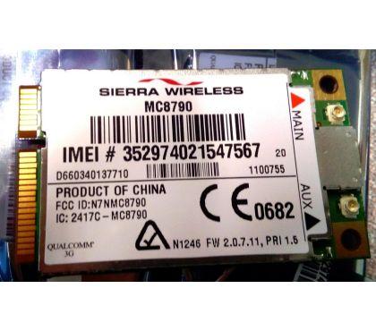 Photos Vivastreet Carte Wireless Sierra MC8790 3G 7.2MbpsGPS WWAN Mini PCIe